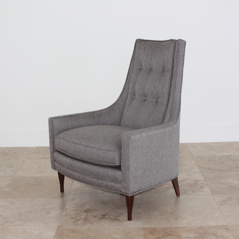 Wayne Chair-Margo Pewter