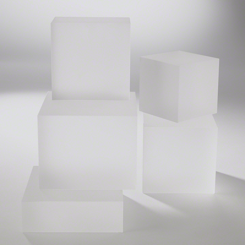 Frosted Crystal Cube Risers