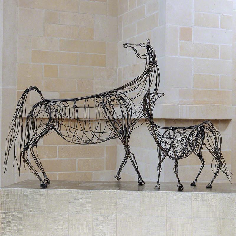 Ming Dynasty Horses-Antique Bronze
