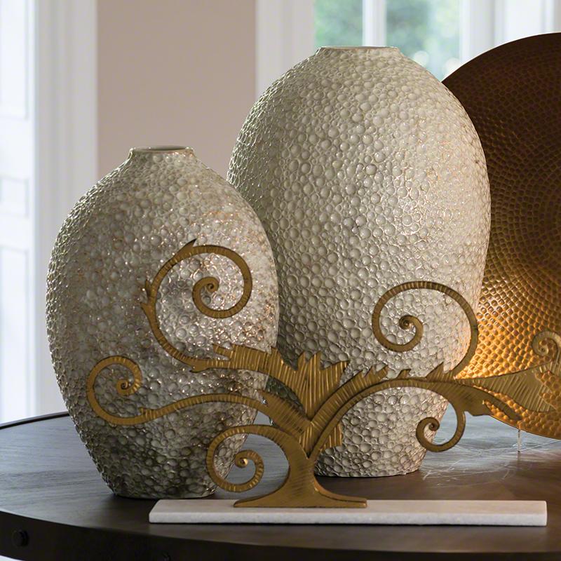 Celestial Vases-Golden