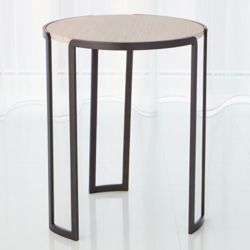 Channel Accent Table-Bronze