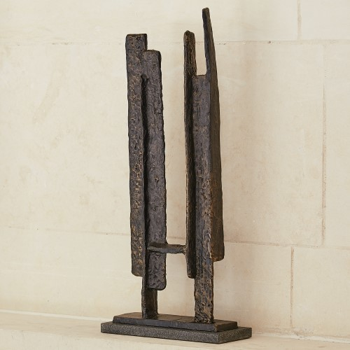Hi Line Sculpture-Bronze