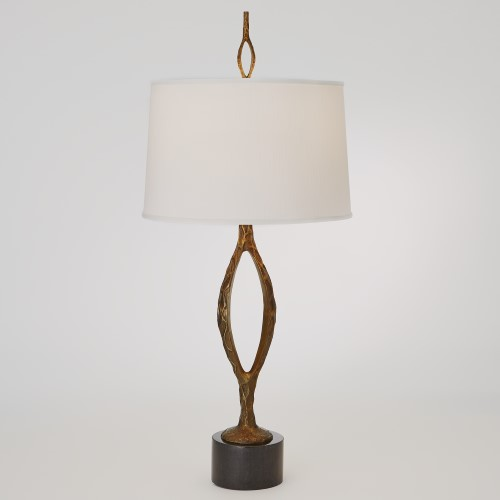 Pod Table Lamp-Antique Gold
