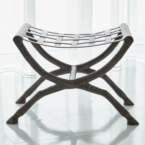 Horse Bench-Bronze