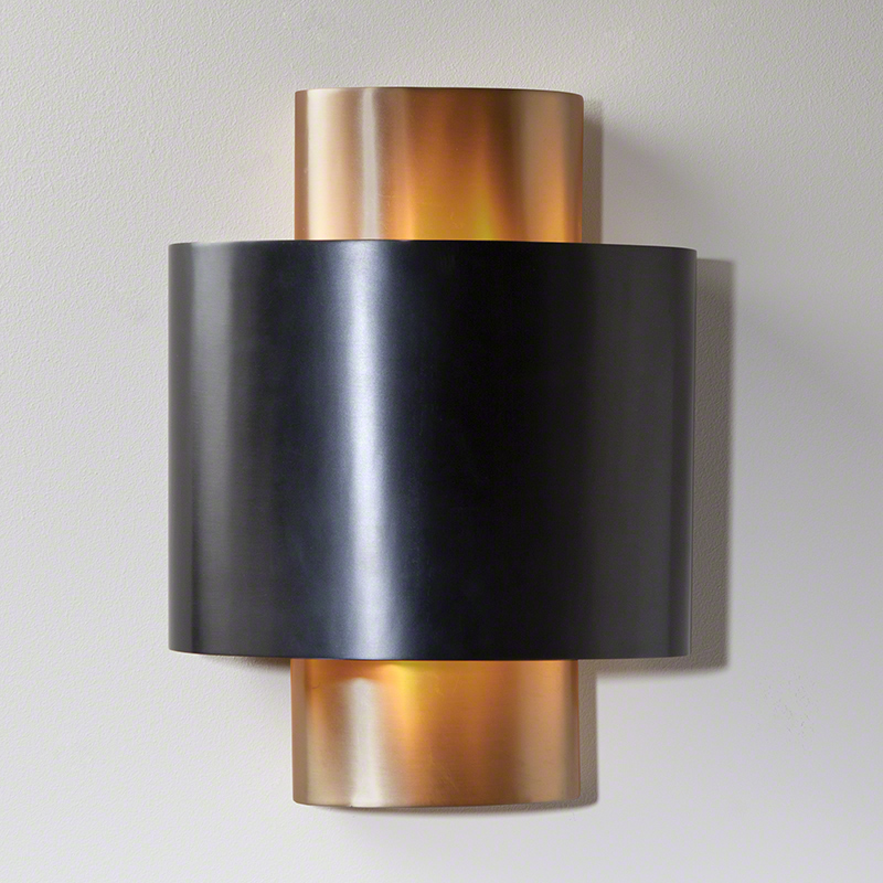 Nordic Gold Wall Sconce-Hardwired
