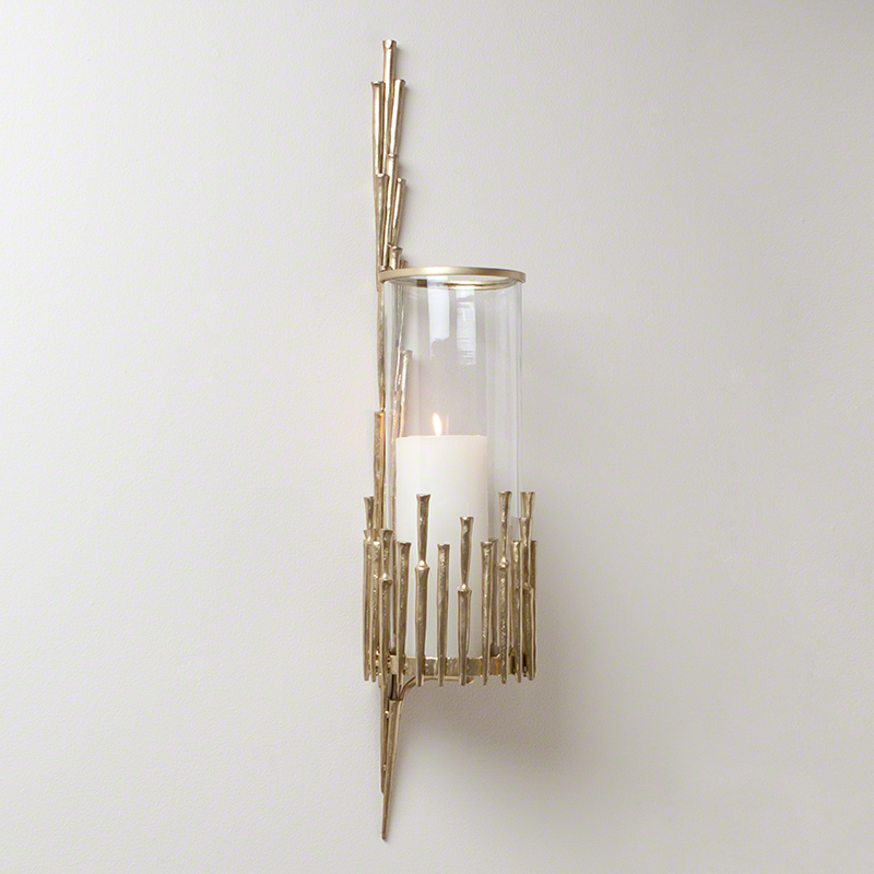 Modern candle sconces wall decor
