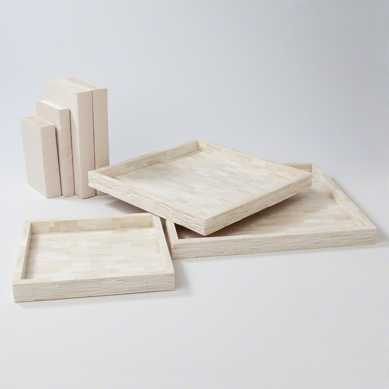 Chiseled Bone Trays