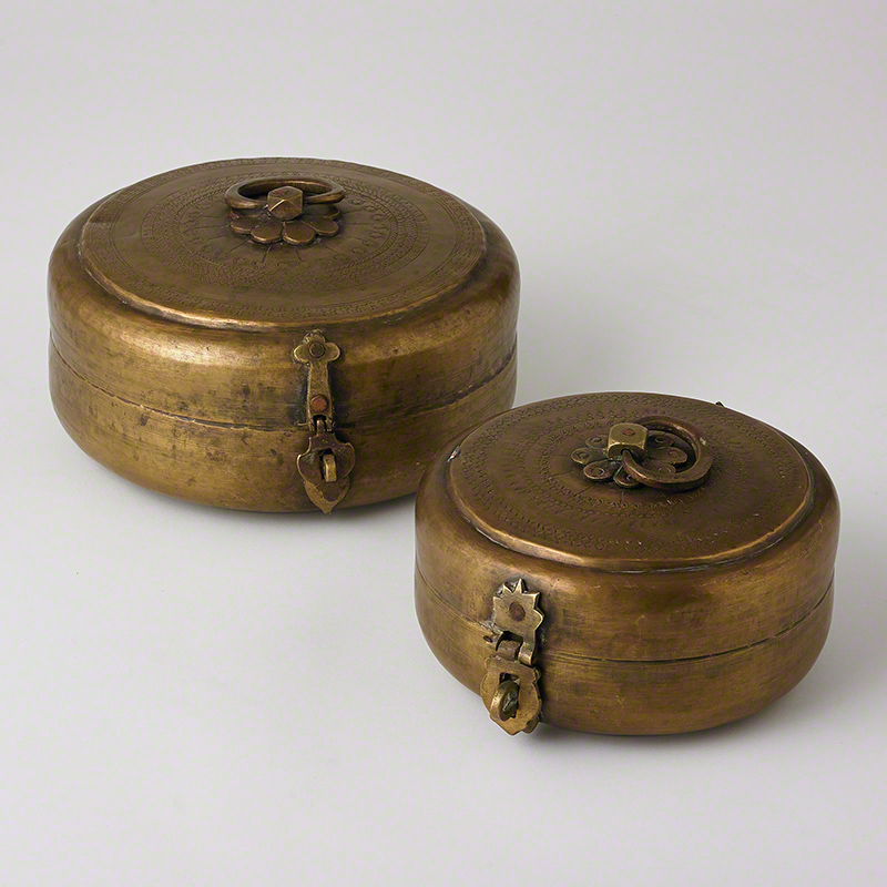 Vintage Chipati Box