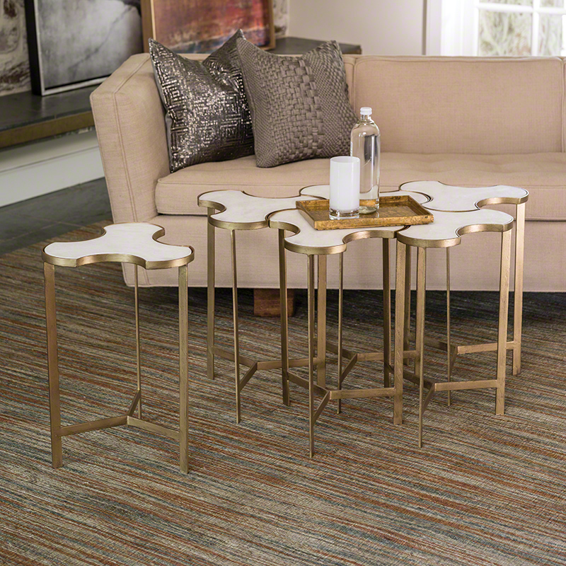 Abbey Jigsaw Bunching Table: Link Bunching Table