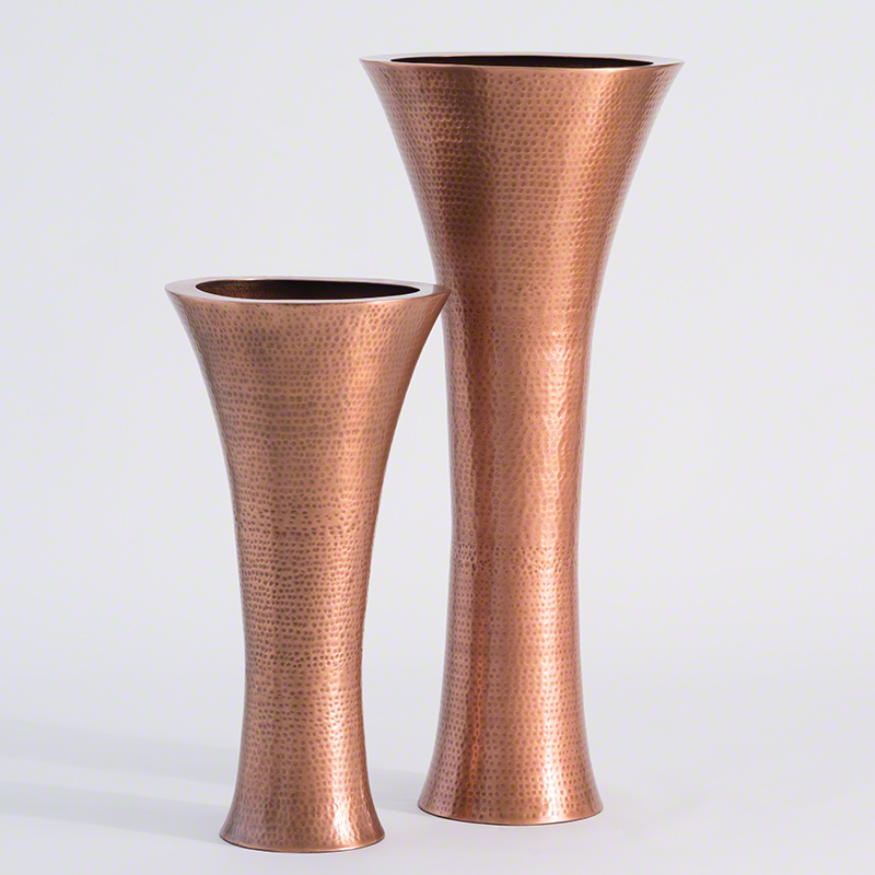Global Views Products Indira Vase Antique Copper