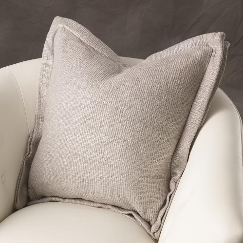 Olmos Pillow-Silver Print