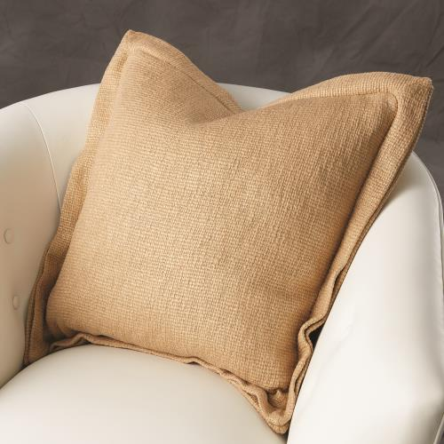 Olmos Pillow-Gold Print