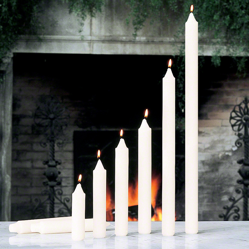 S/4 Taper Candles-Unscented-1