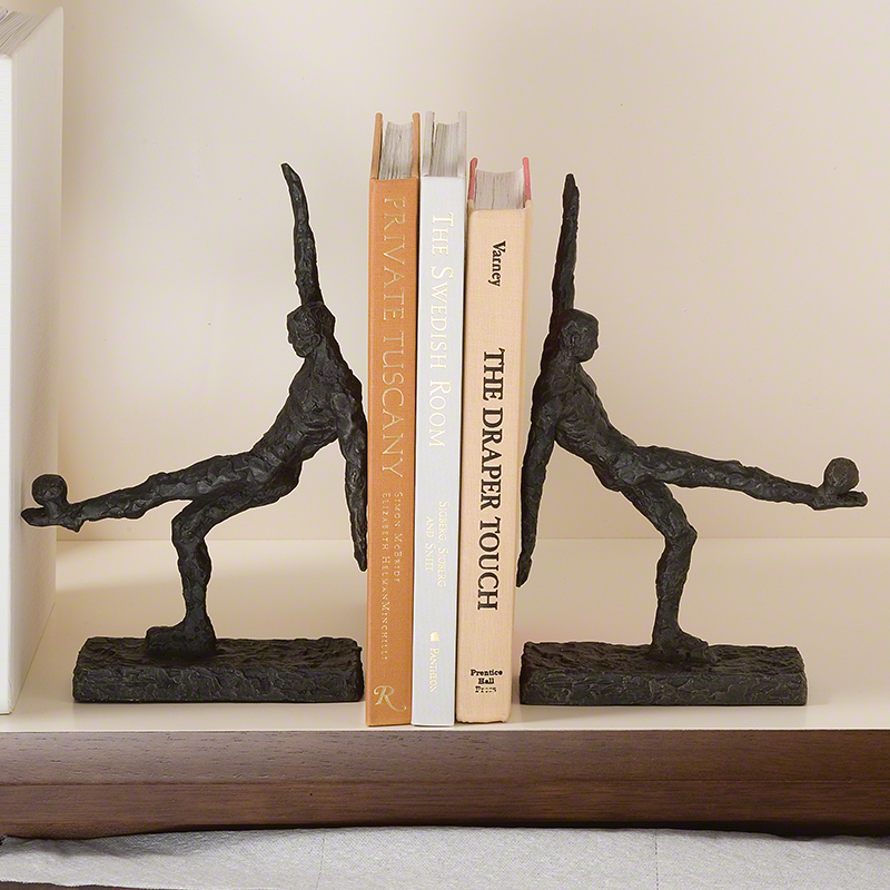 Global Views Products Soccer Kick Bookends Pair