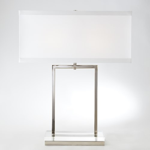 Crystal Slab Lamp