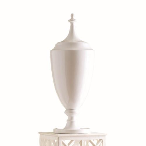 Grande Urn W/Lid-White