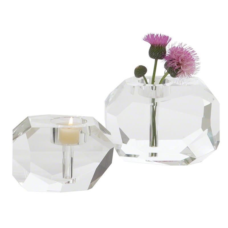Gemstone T-Lite/Bud Vase