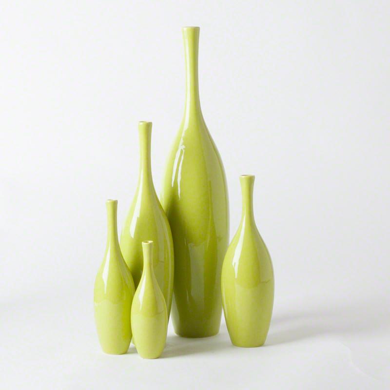 GLOBAL VIEWS | products | Juggler Vase-Keylime