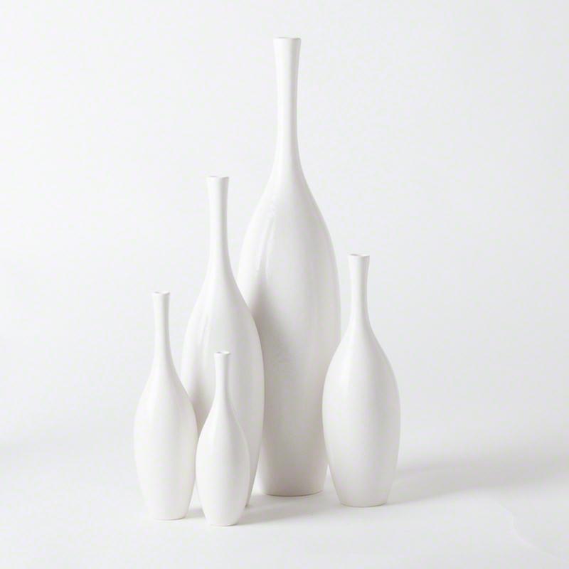 Juggler Vase-Blanc