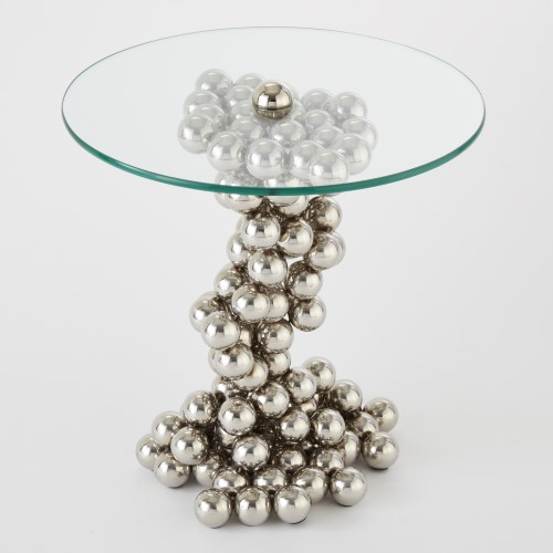 Sphere Table-Nickel