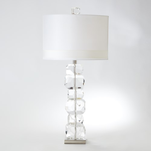 Stacked Gemstone Lamp-Tall
