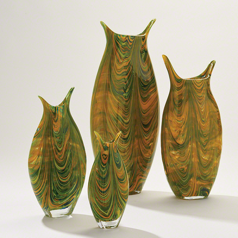 Marbleized Vase