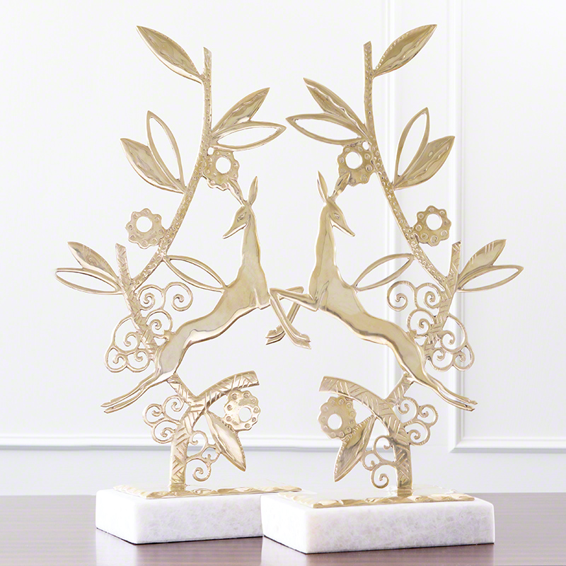 Enchanted Forest Sculpture-Brass