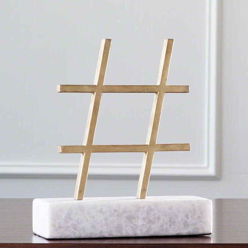 Hashtag-Gold