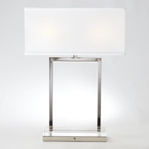Mini Crystal Slab Lamp