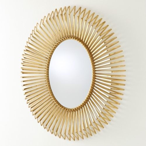 Andrea's Mirror-Gold Leaf