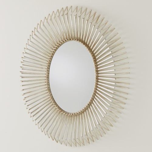 Andrea's Mirror-Silver Leaf