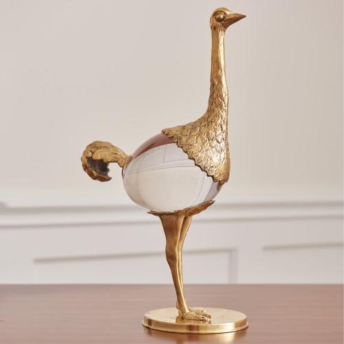Ostrich-Brass