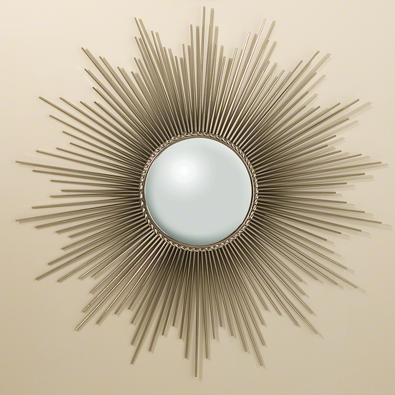 Sunburst Mirror-Nickel