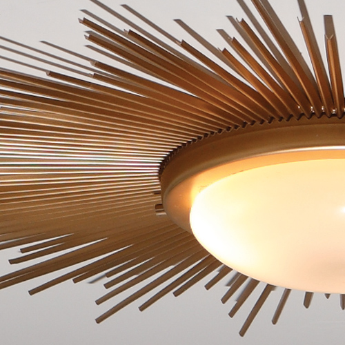 Item Description Dimensions Tearsheet 9 91411 Sunburst Light Fixture Gold