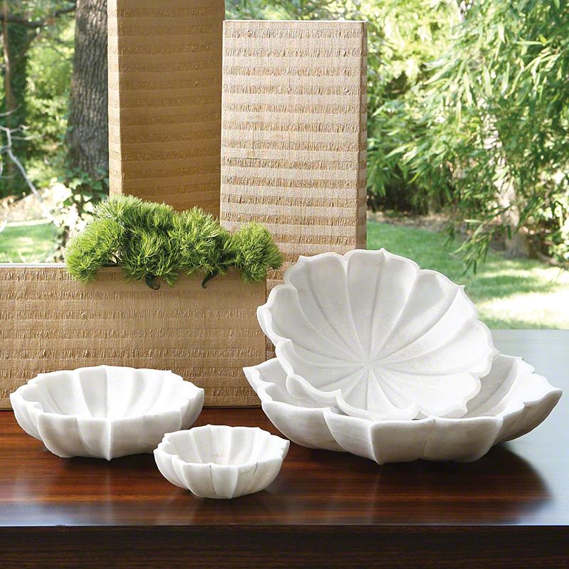 Marble Petal Bowl