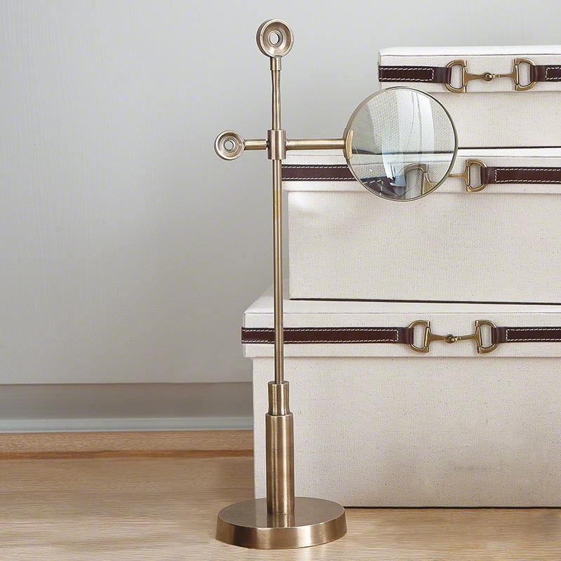 Telescope Magnifying Glass-Brass