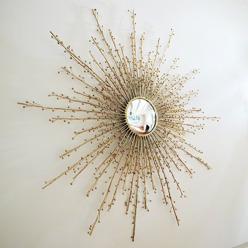 Berries Mirror-Brass