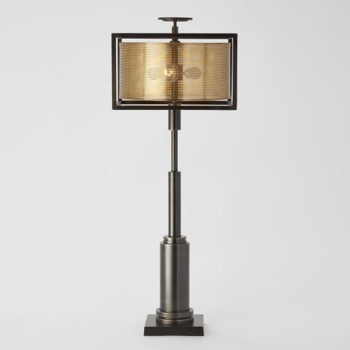 Double Shade Lamp