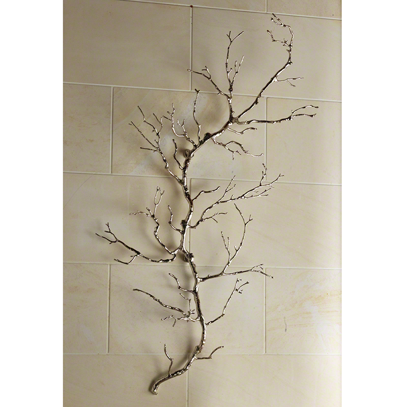 Twig Wall Art-Nickel