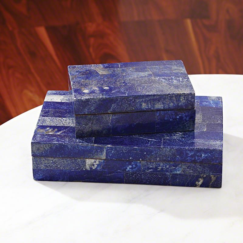 Lapis Stone Box