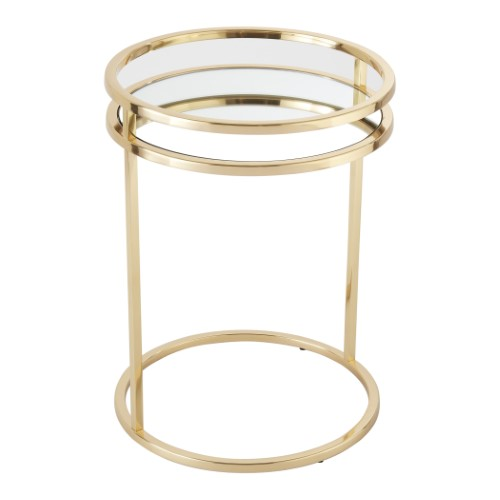 Ring Table-Brass