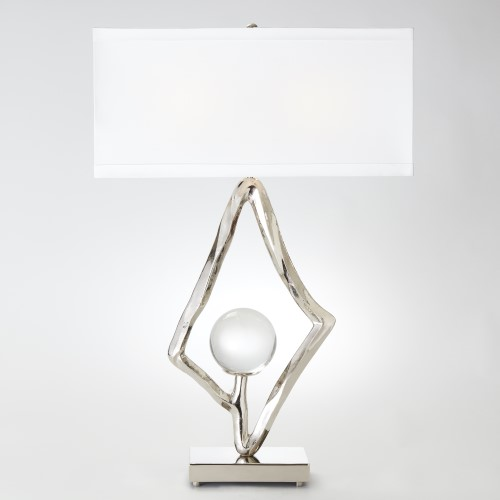 Abstract Lamp-Nickel