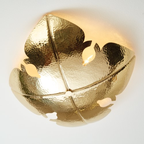 Global Views Products European Ceiling Mount Brass