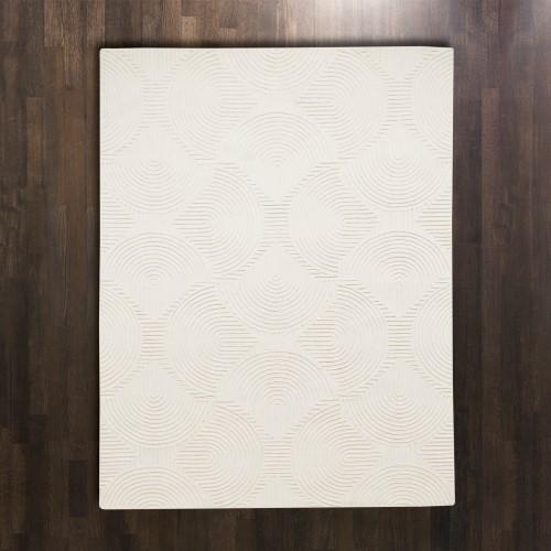 Arches Rug-Ivory/Ivory