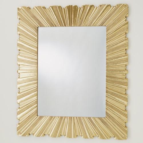 Linen Fold Mirror