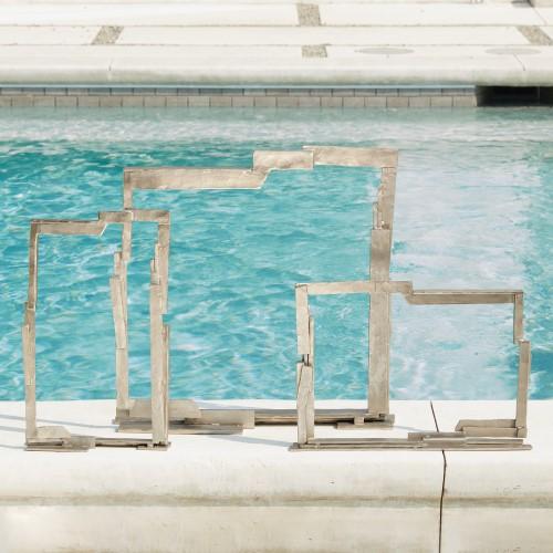 Framed Sculpture-Nickel