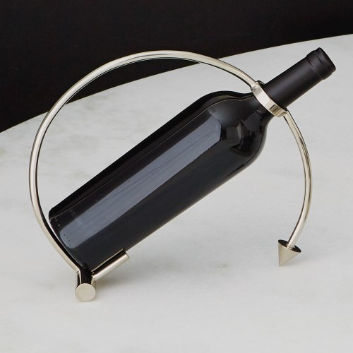Arrow Wine Caddy-Nickel