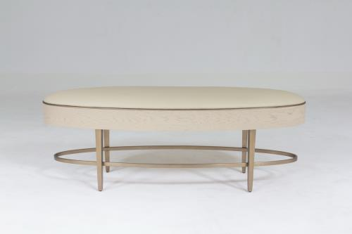 Ellipse Bench-Ivory