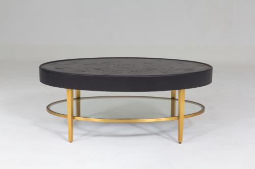Ellipse Cocktail Table-Ebony