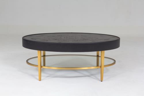Ellipse Cocktail Table-Ebony